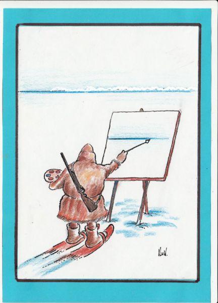 Карикатура: Оп-арт..., kolj