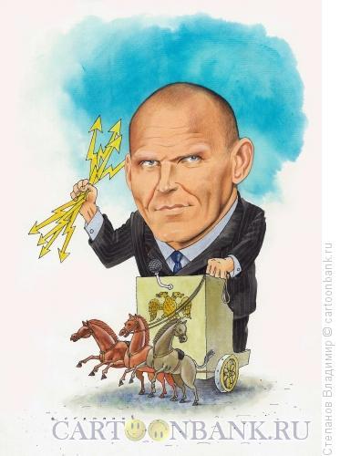 Карикатура: Александр Карелин, Степанов Владимир
