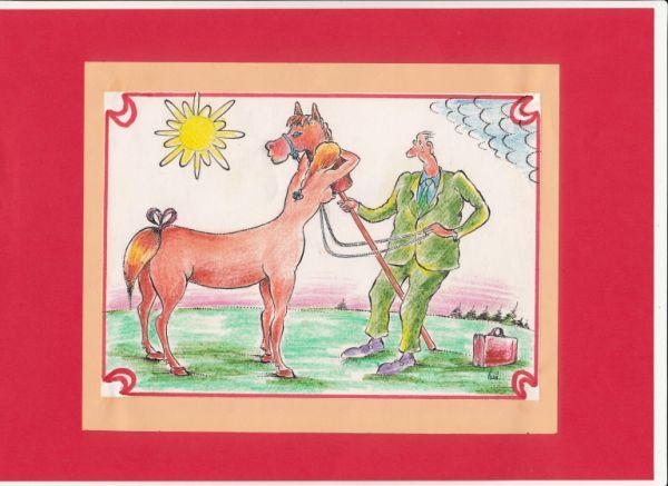Карикатура: любовь., kolj