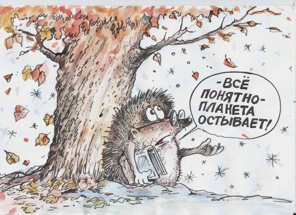 Карикатура: Даже ежу понятно, Избасаров Бауржан