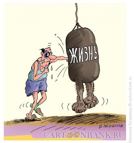 Карикатура: трудная жизнь, Ненашев Владимир