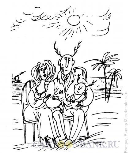 Карикатура: Фото с юга, Богорад Виктор
