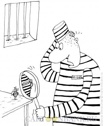 Карикатура: Тюремный порядковый номер, Шилов Вячеслав