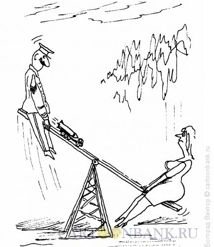 Карикатура: Боеголовка, Богорад Виктор
