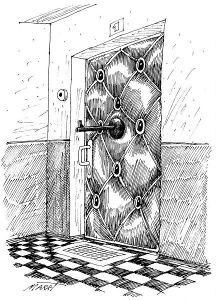 Карикатура: глазок, Марат Валиахметов