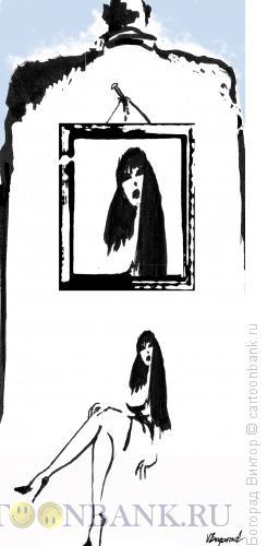Карикатура: Как за каменной стеной, Богорад Виктор