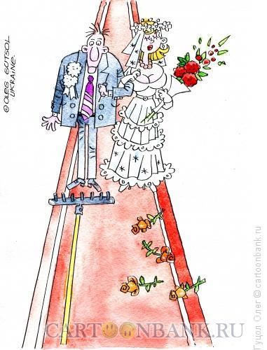 Карикатура: Неравный брак, Гуцол Олег