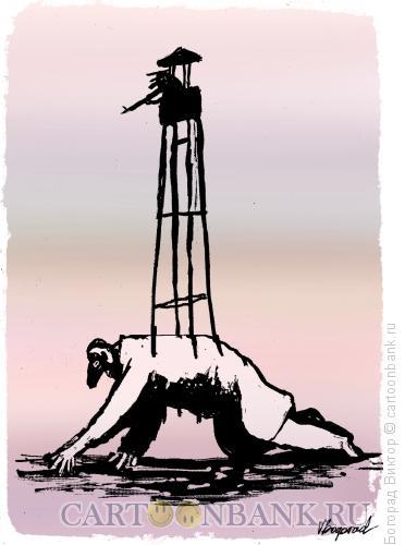 Карикатура: Власть, Богорад Виктор