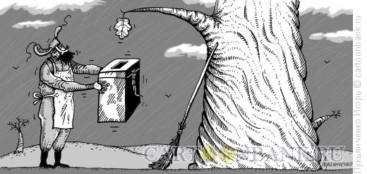 Карикатура: Выборы, Лукьянченко Игорь