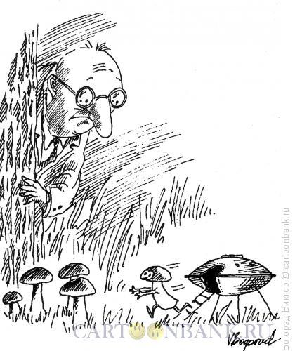 Карикатура: Контакт, Богорад Виктор