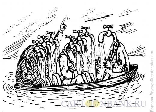 Карикатура: Люди-краны, Богорад Виктор