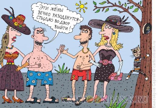 Карикатура: Жёны, Белозёров Сергей