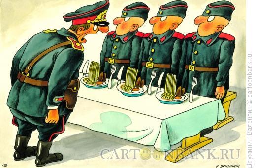Карикатура: Смирно!, Дружинин Валентин