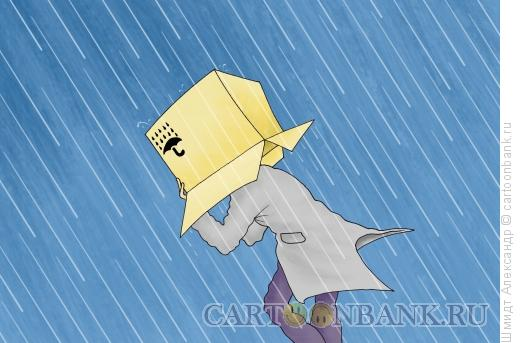 Карикатура: Не допускать намокания, Шмидт Александр