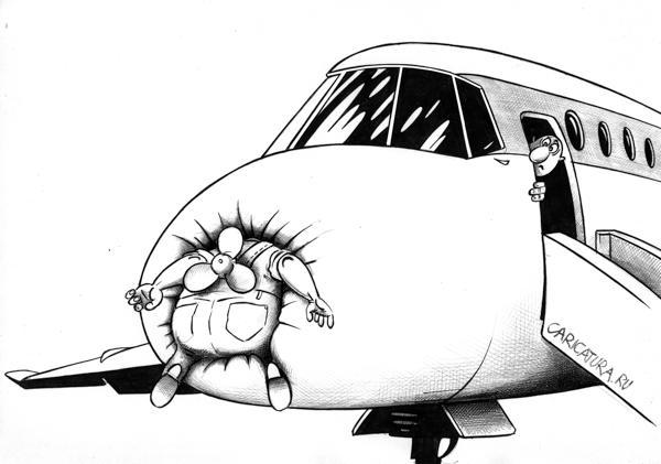 Карикатура: Пропеллер, Сергей Корсун