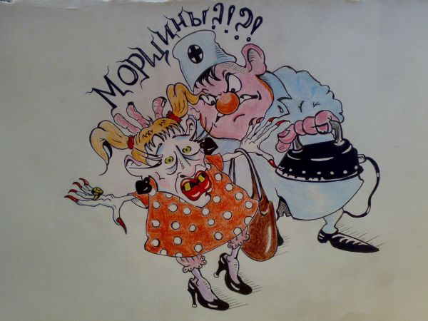 Карикатура: Пластический хирург ., Константин Мухоморов