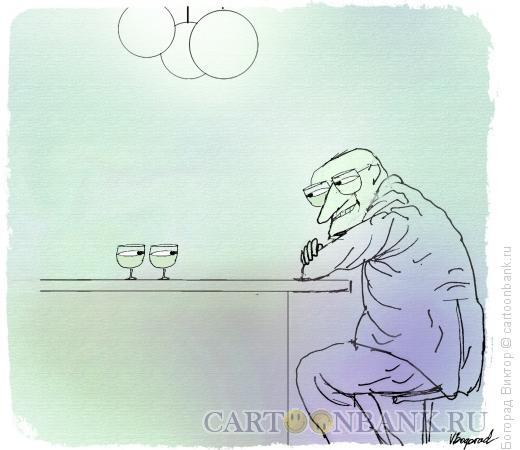 Карикатура: Эти глаза напротив, Богорад Виктор