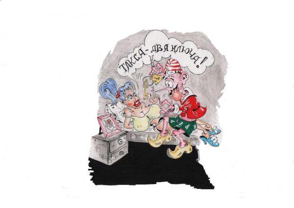 Карикатура: В гостях у сказки..., Константин Мухоморов