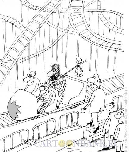 Карикатура: Бомжик, Шилов Вячеслав