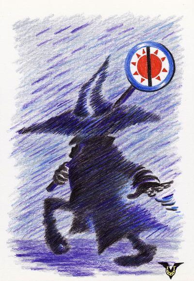 Карикатура: Ноябрь, Властелин Бледнотиков, Владимир Уваров