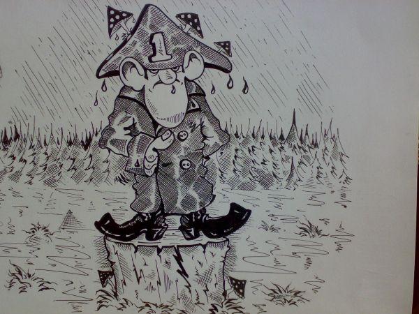 Карикатура: Самокритика ., Константин Мухоморов