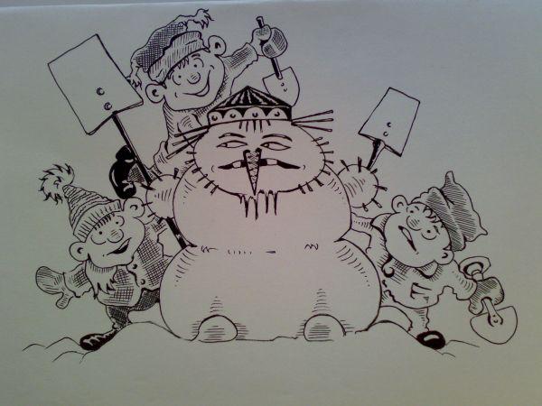 Карикатура: 2013 - ый., Константин Мухоморов