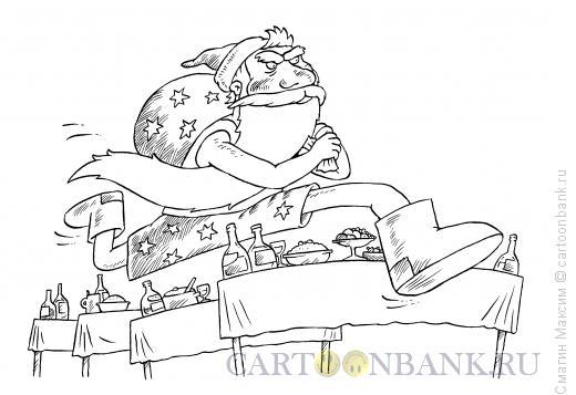 Карикатура: Бег с препятствиями, Смагин Максим