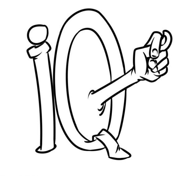 Карикатура: IQ - это миф