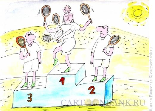 Карикатура: Многорукий Шива, Шилов Вячеслав