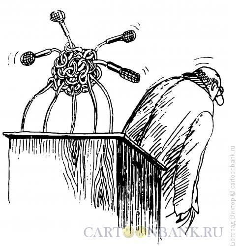 Карикатура: Узел, Богорад Виктор