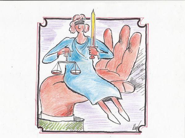 Карикатура: Сидеть лучше,чем стоять..., Nikolaj Kincharov