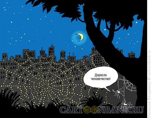 Карикатура: интернет-сети, Ненашев Владимир