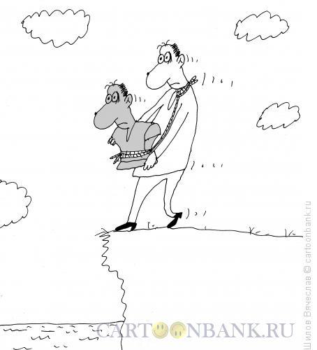 Карикатура: Бюст, Шилов Вячеслав