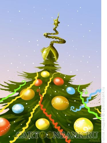 Карикатура: год змеи 2013, Попов Андрей