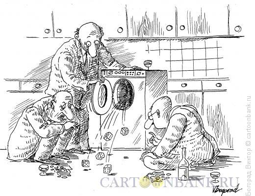 Карикатура: Игра в кости, Богорад Виктор