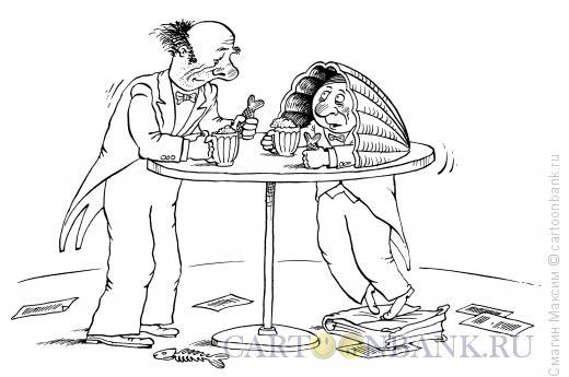 Карикатура: Суфлер всегда суфлер, Смагин Максим