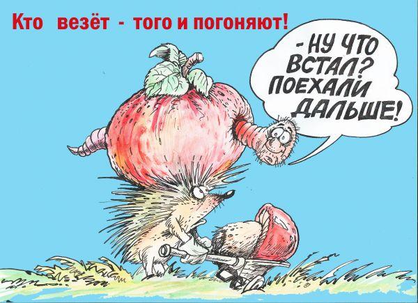 Карикатура: Погоняйло, Бауржан Избасаров