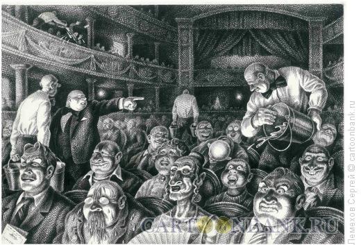 Карикатура: Не спать!, Лемехов Сергей