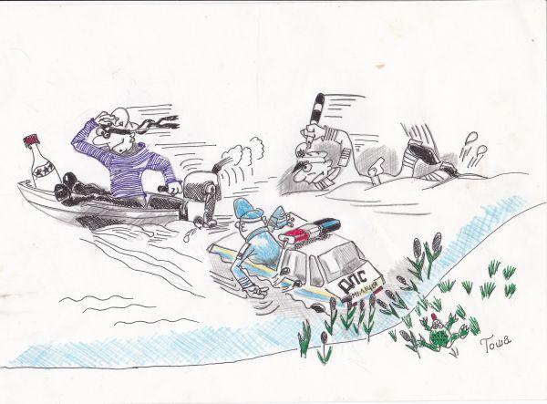 Карикатура: рефлекс собак павлова, василенко игорь
