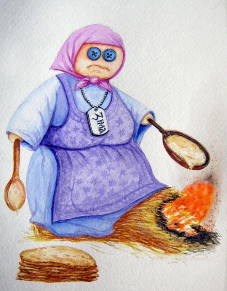 Карикатура: Масленица, Resakur