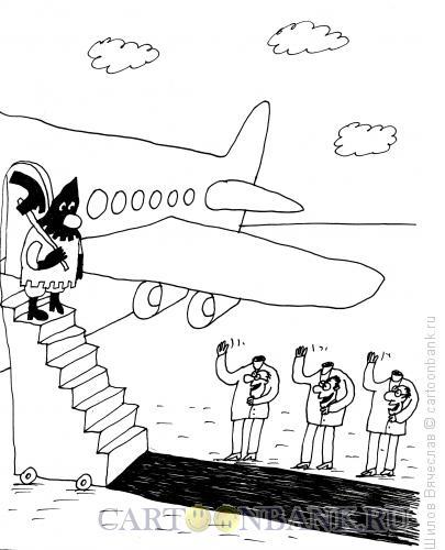 Карикатура: В ожидании наказания, Шилов Вячеслав