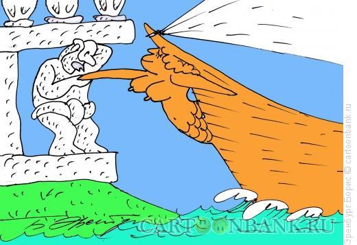Карикатура: Скульптуры, Эренбург Борис