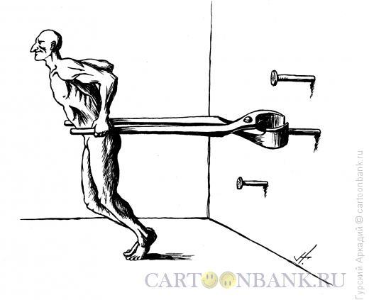 Карикатура: клещи гвозди, Гурский Аркадий