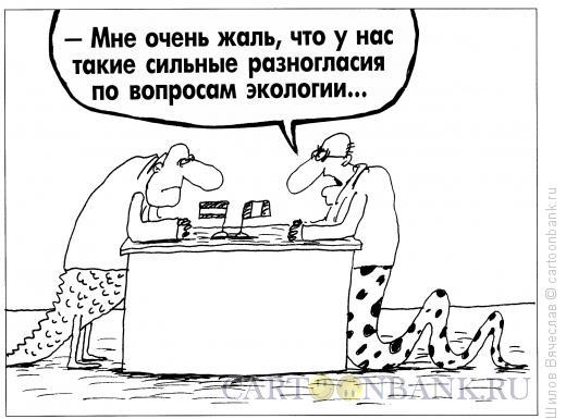 Карикатура: Разногласия, Шилов Вячеслав