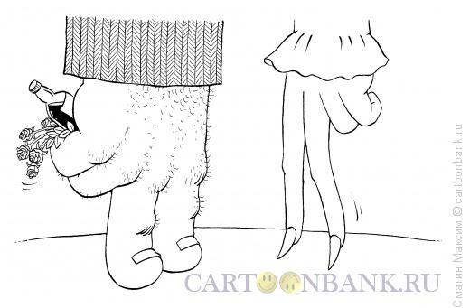 Карикатура: Руки - зеркало души, Смагин Максим