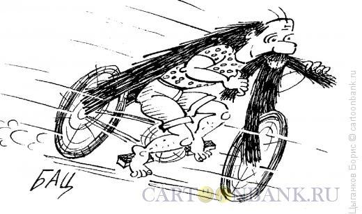 Карикатура: Хиппи, Цыганков Борис