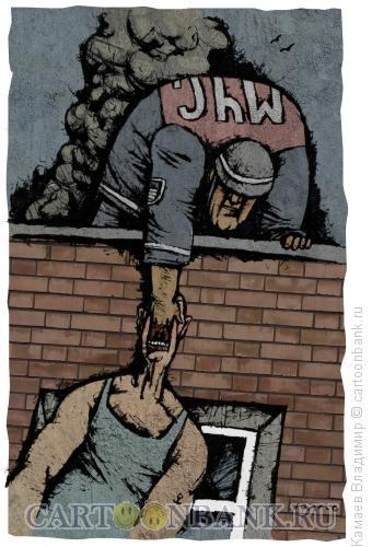 Карикатура: МЧС, Камаев Владимир