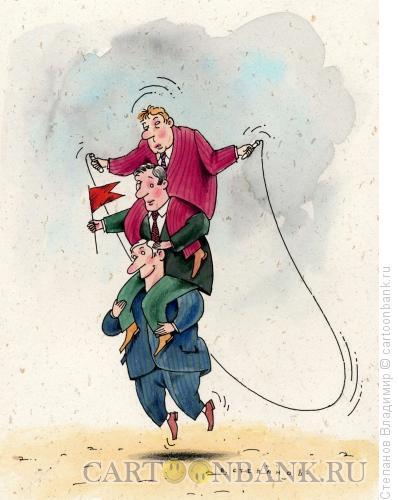 Карикатура: Каждому своё, Степанов Владимир
