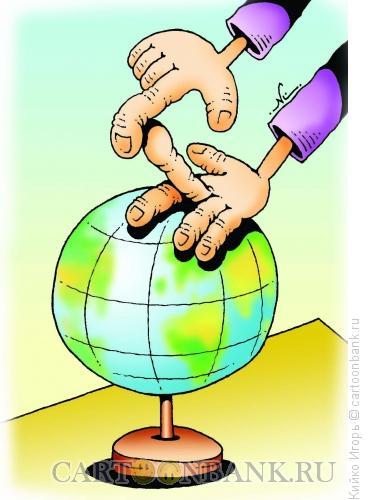 Карикатура: Человек и мир, Кийко Игорь