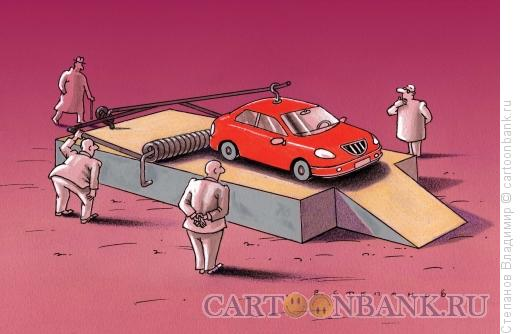 Карикатура: Мышеловка, Степанов Владимир